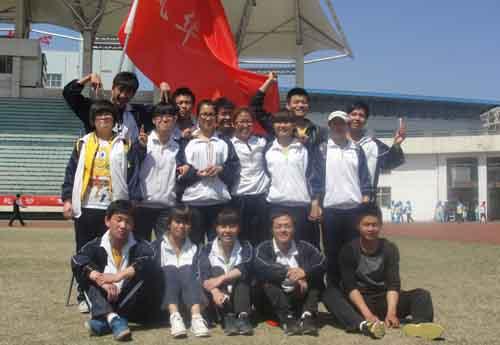 我校在晋cheng市第二十wu届tian径yun动会中荣获佳绩