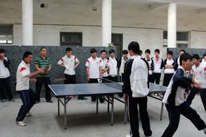 """""""青春杯""""ping乓球赛落下帷幕"""