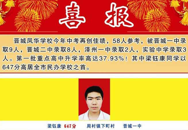 2013年zhong考xixun