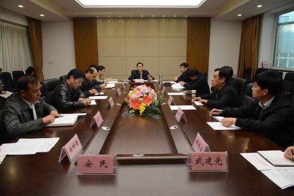shijiao育ju党委召开党建工作ling导小组会议
