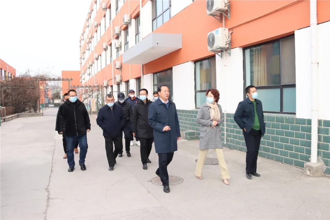 省厅和shiju相guanling导莅临我校进行疫情防控专项du导检查